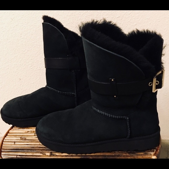 9e91524dbad UGG Australia Jaylyn Black Womens BOOTS Size 7 Boutique